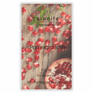 Facial Pomegranate