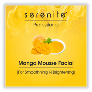 mango mousse facial kit for beauty professional