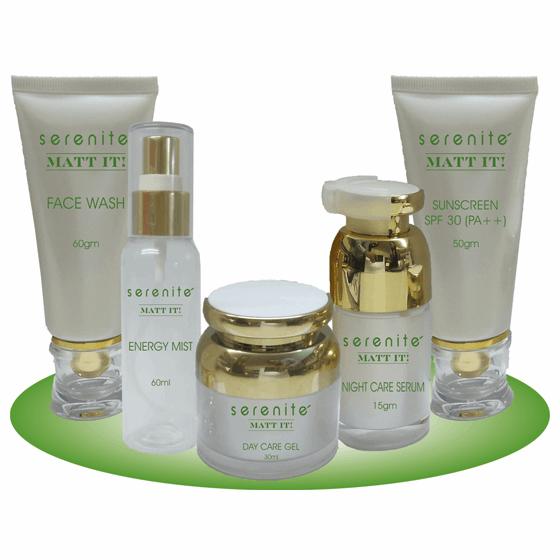 personal care kit for oily skin - matt it